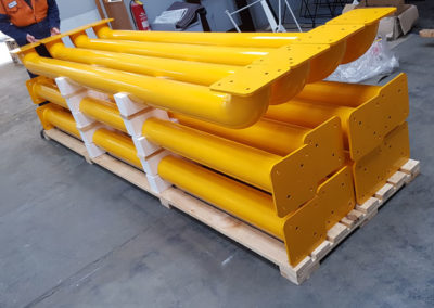 Large Bollards // Safety Yellow