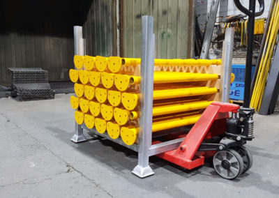 Handrail Posts // Safety Yellow