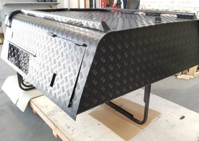 Aluminium Ute Canopy // Matt Black