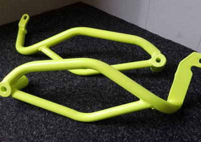 Motorbike Parts // Neon Yellow