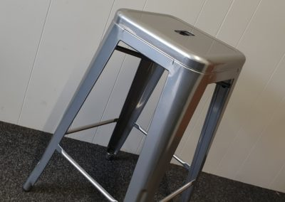 Bar Stool // Superchrome & Clear Coat