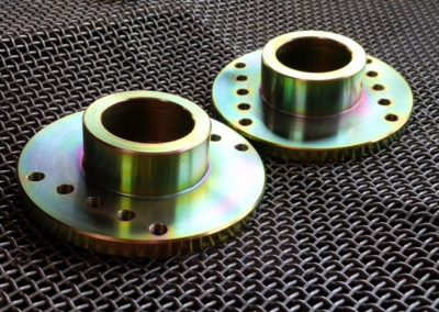 Machined Parts // Gold Passivated Zinc