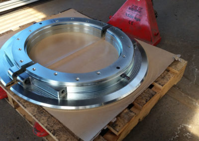 Large Machined Parts // Silver Passivated Zinc