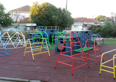 Restored Playground Equipment