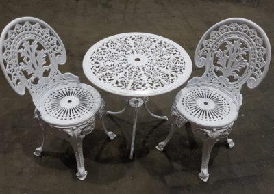 Outdoor Furniture // Arctic White