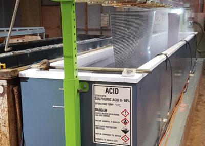 Escudo Electroplating // Acid Pickling Tank