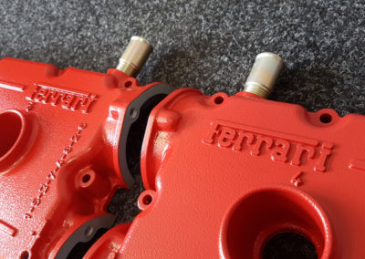 Ferrari Rocker Cover // Bright Red Ripple