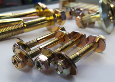 Restored Automotive Parts // Gold Passivated Zinc